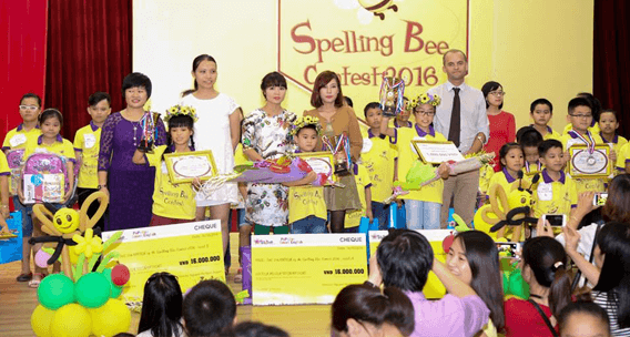 Ấn tượng PoPoDoo Spelling Bee Contest 2016