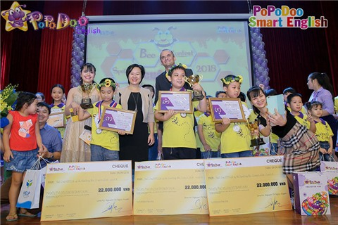 Ấn tượng PoPoDoo Spelling Bee Contest 2018