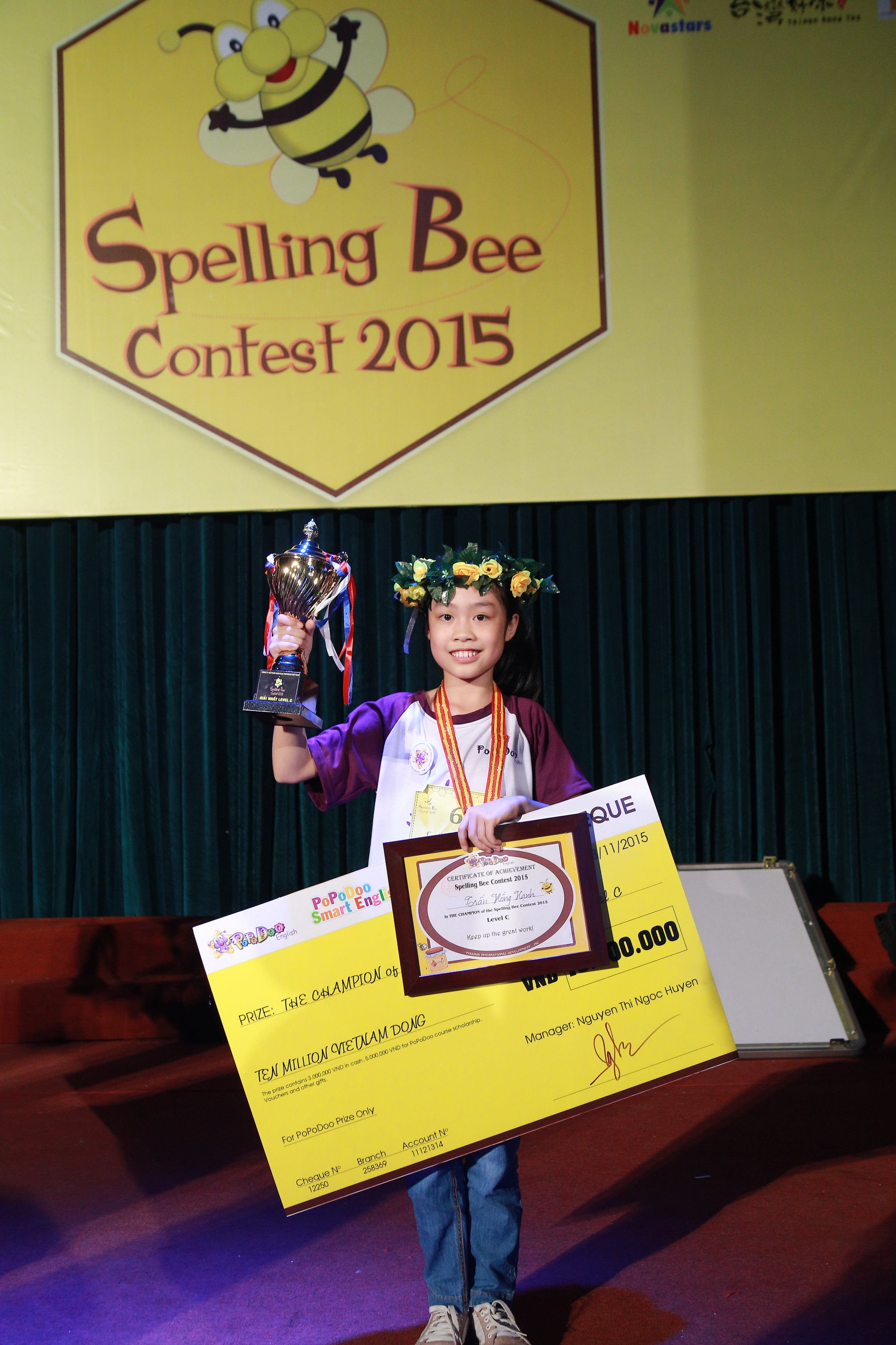 Throwback our Spelling Bee Contest 2015 Champions - Level C