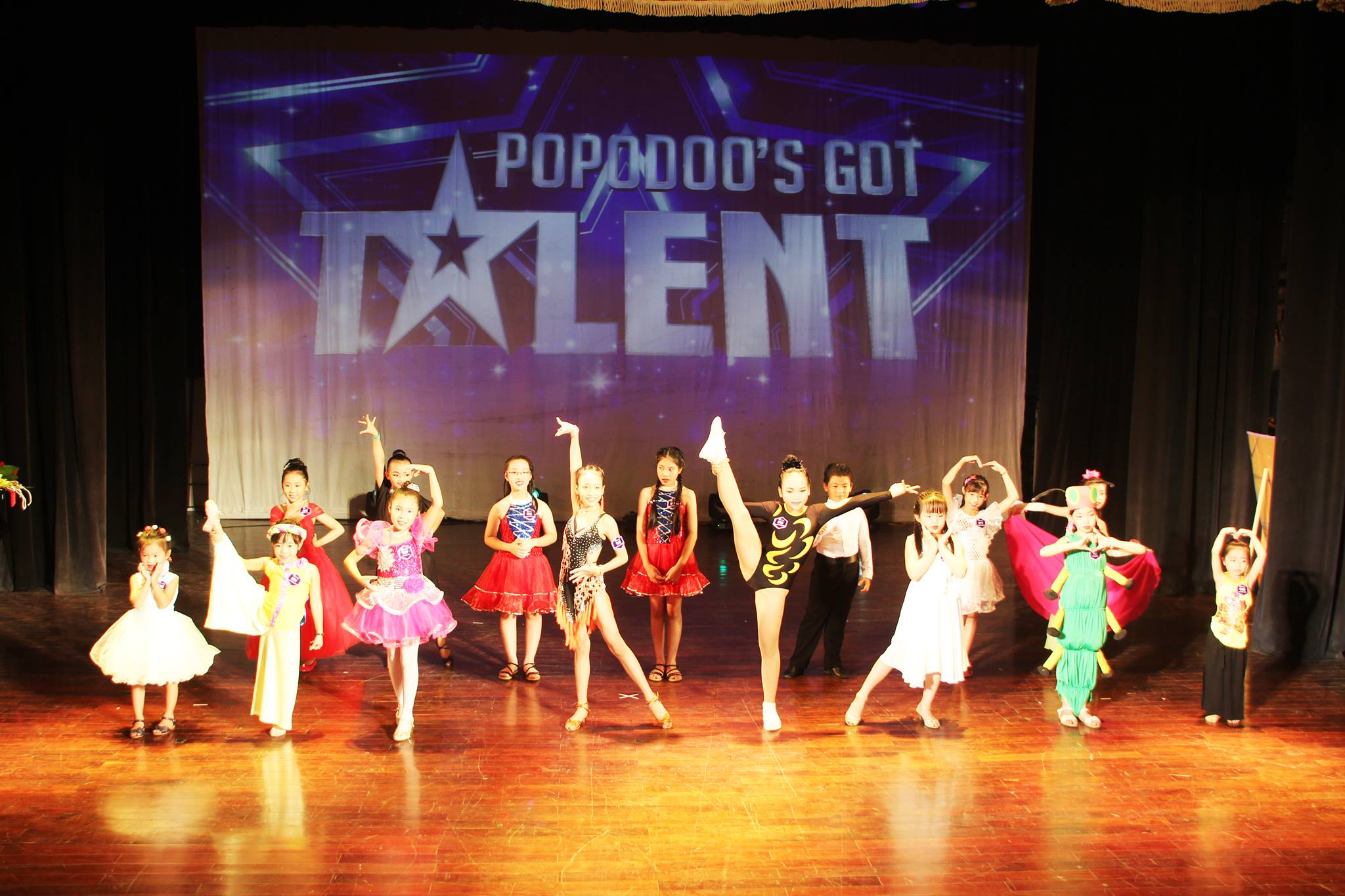 THROWBACK POPODOO'S GOT TALENT